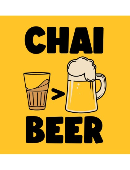 Chai over Beer
