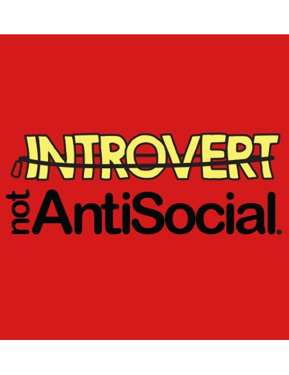 Introvert but not Antisocial