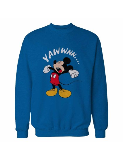 Mickey Yawn Sweatshirt