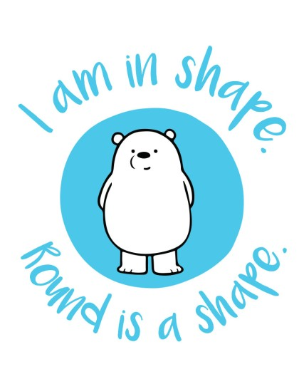 We bare bears: In Shape