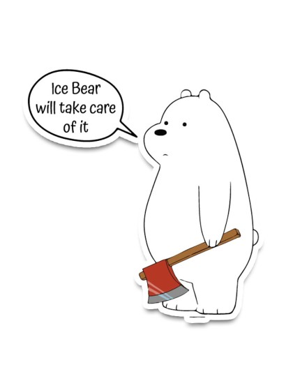 We Bare Bears: Ice bear will take care