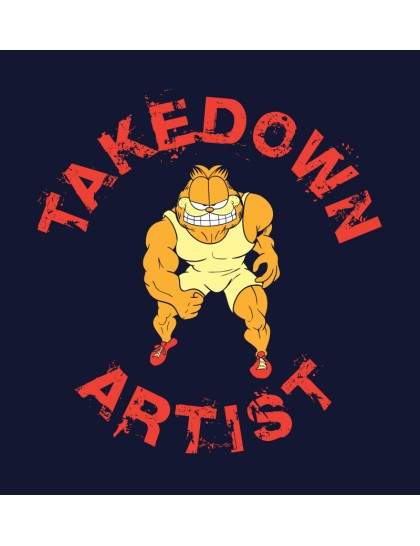 Garfield: Takedown artist