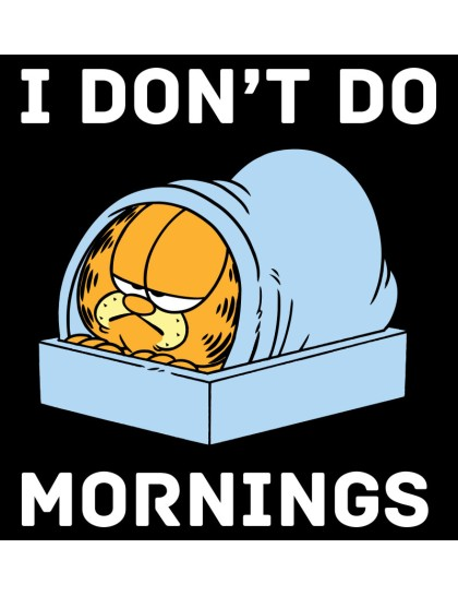 Plus Size - Garfield: Mornings
