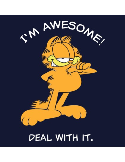Plus Size - Garfield: I am Awesome