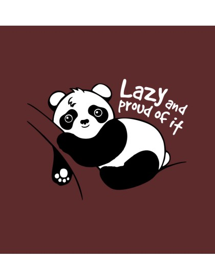 Hoodie - Lazy and Proud