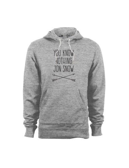 Hoodie - Game of Thrones: You know nothing Jon Snow
