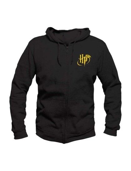 Hoodie - Harry Potter: Logo Zipper