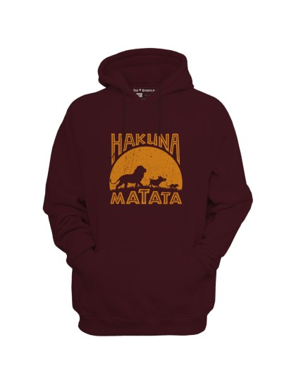 Hoodie - The Lion King: Hakuna Matata