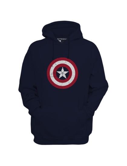 Captain America Hoodie : Logo