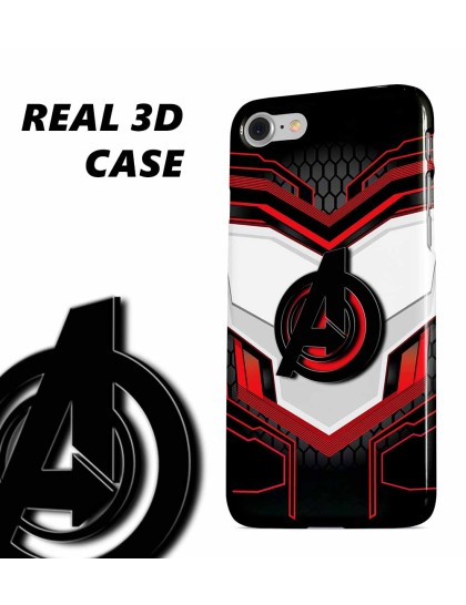 Avengers Endgame: Quantum Suit 3D Case