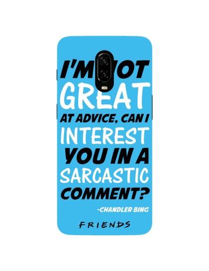 Friends: Sarcastic Comment