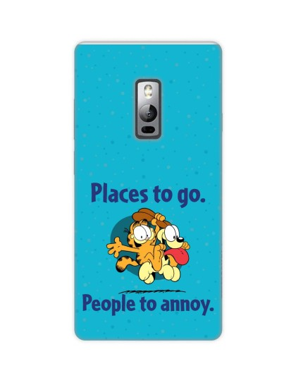 Garfield: Places to Go
