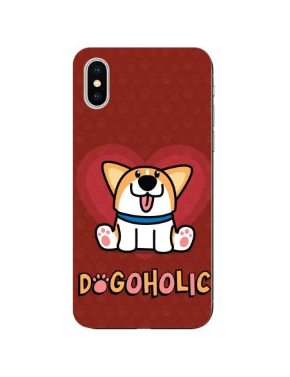 Dogoholic: iPhone X - Mobile Cover