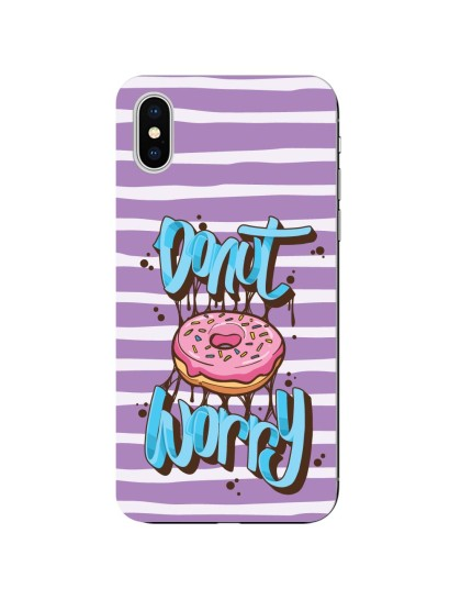 Donut Worry: iPhone X - Mobile Cover