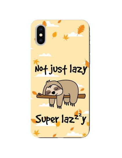Super Lazy: iPhone X