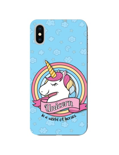 Unicorn: iPhone X - Mobile Cover