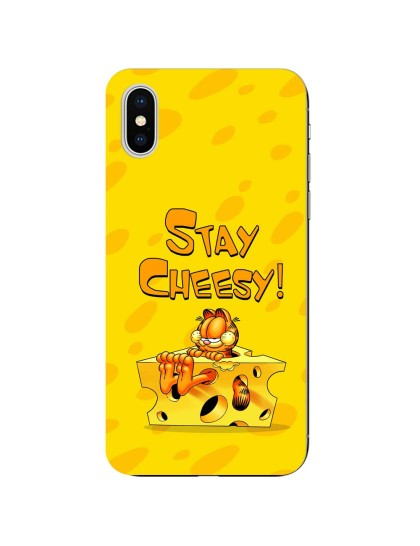 Garfield: Stay Cheesy: iPhone X - Mobile Cover