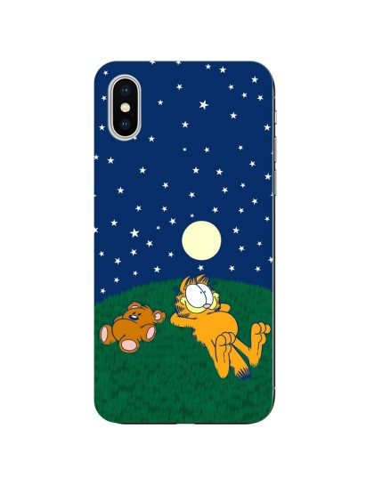 Garfield: Stars: iPhone X - Mobile Cover