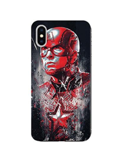 Avengers Endgame: Captain America - Mobile Cover