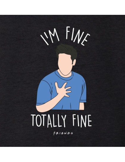 Sweatshirt - Friends: Im fine