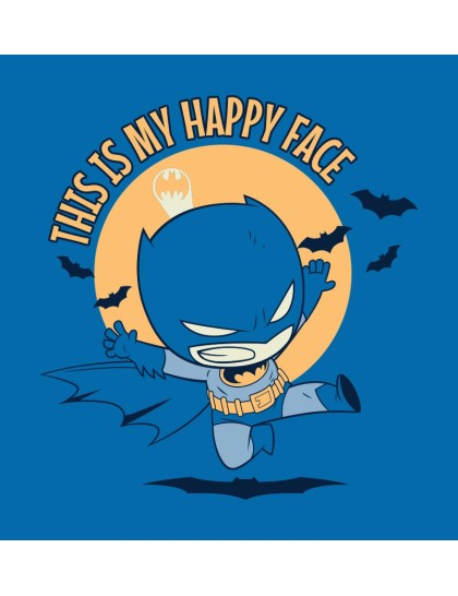 Batman Happy Face Sweatshirt