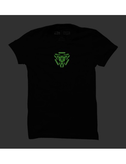 d8a667227 Iron Man: Arc Reactor (Glow in the Dark)|| TeeStory.in