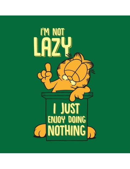 Garfield: Not Lazy