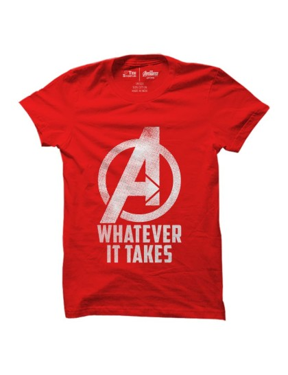 Avengers Endgame: Whatever It Takes(Red)