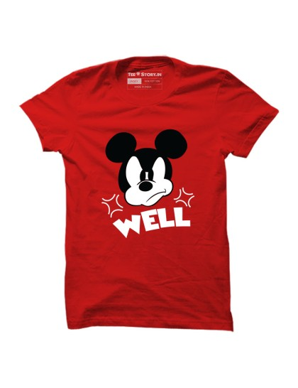 Mickey Mouse: Well