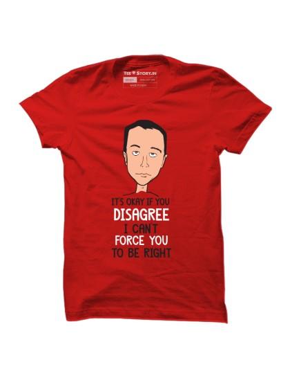 The Big Bang Theory: Disagree