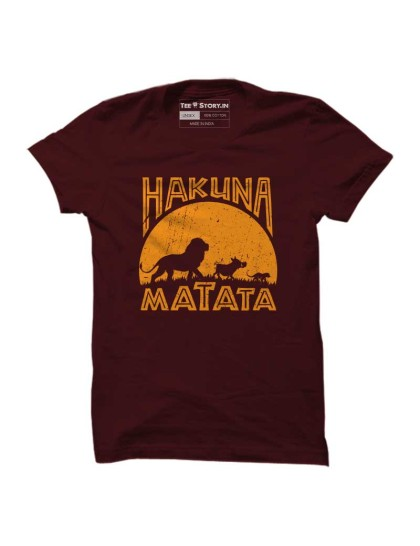 The Lion King: Hakuna Matata(Maroon)