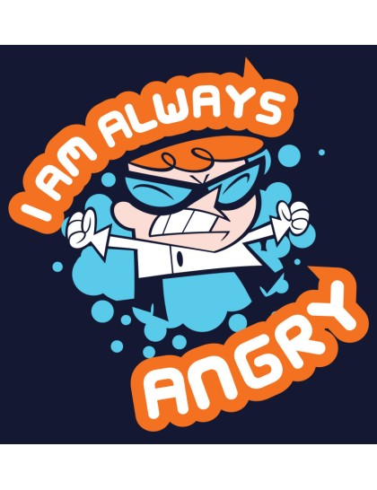 Dexters Laboratory: Always angry