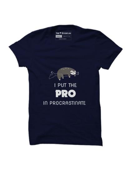 Pro in procrastinate