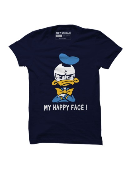 Donald Duck: Happy Face(Navy Blue)