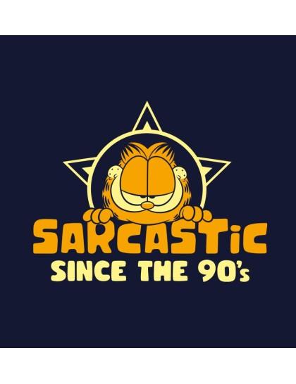 Garfield: Sarcastic since 90s
