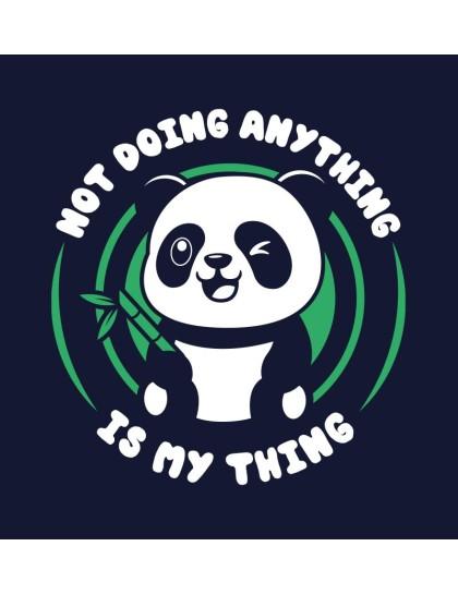 Panda: Doing Nothing