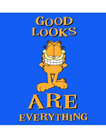 Garfield: Good looks