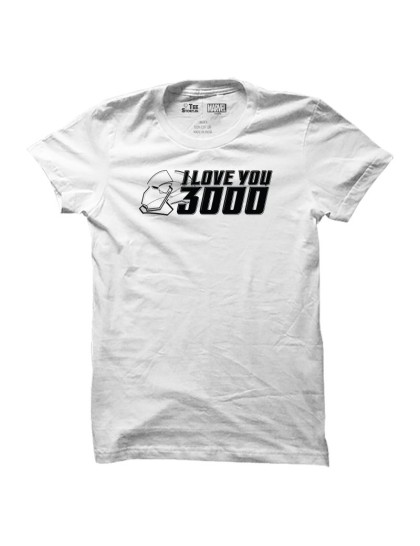 Iron Man: I Love You 3000 (White)