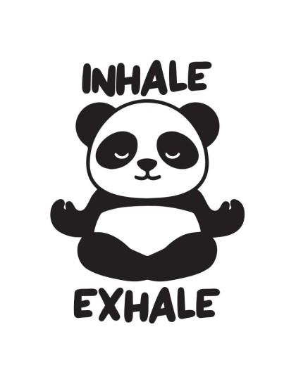 Panda Meditating