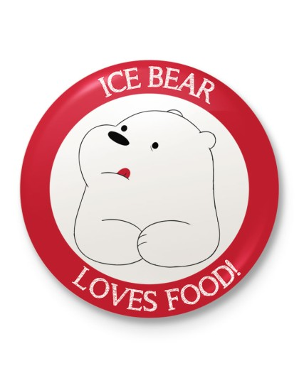We Bare Bears: Ice Bear loves food