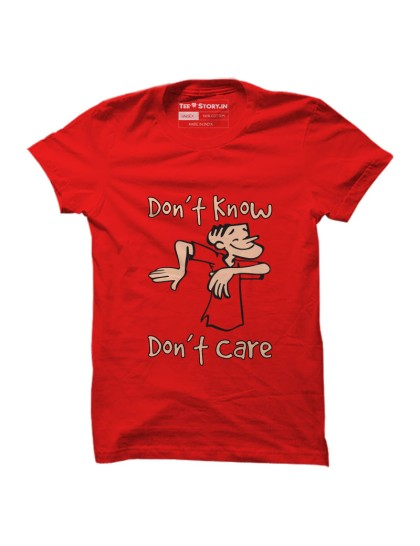 Tinkle: Dont Know Dont care