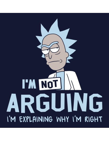Rick and Morty: Not arguing