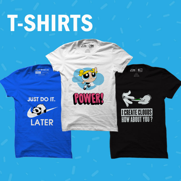 Buy T Shirts Online India
